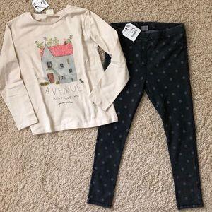 Gis Zara outfit size 9 NWT